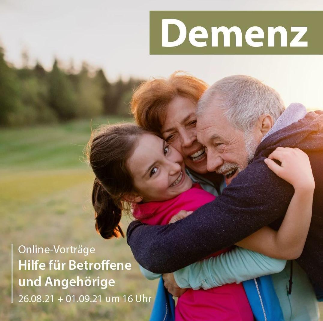 """Online-Vorträge zum Thema """"Demenz"""""""